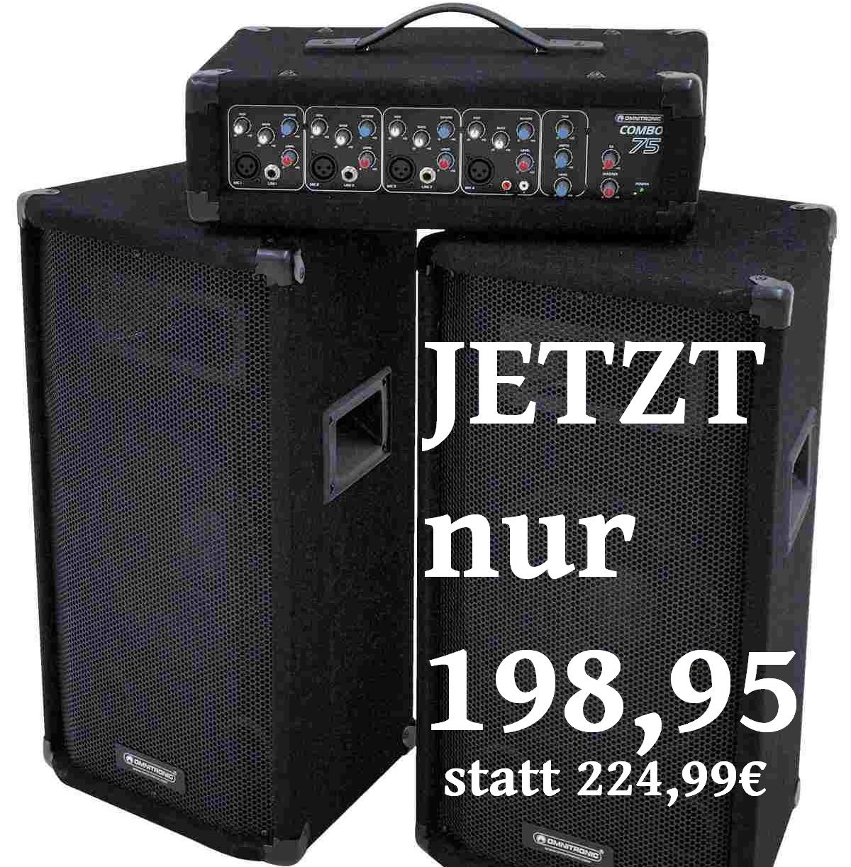 Sennheiser E935 Veranstaltungstechnik Omnitronic Combo